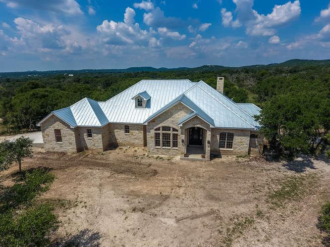 126 Mira Vista front exterior aerial view